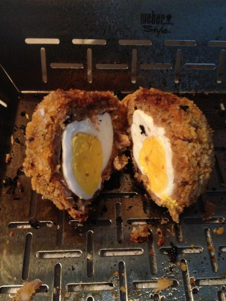 Weber BBQ Recipe Smoked Scotch Eggs 29
