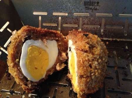 Weber BBQ Recipe Smoked Scotch Eggs 30