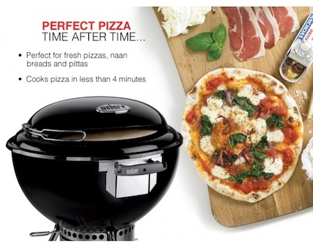 How To Use The Weber Pizza Oven Review Demo Bbq Pizza