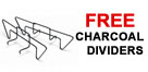 Free Charcoal Dividers